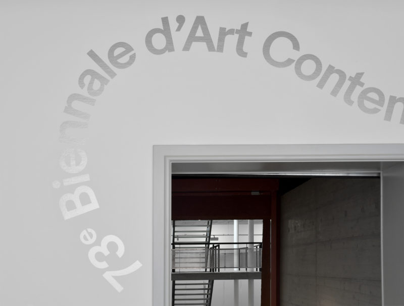 73 biennale d art contemporain supero for Biennale artisanat d art